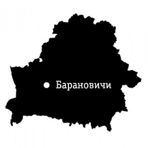 Карта местности: Барановичи
