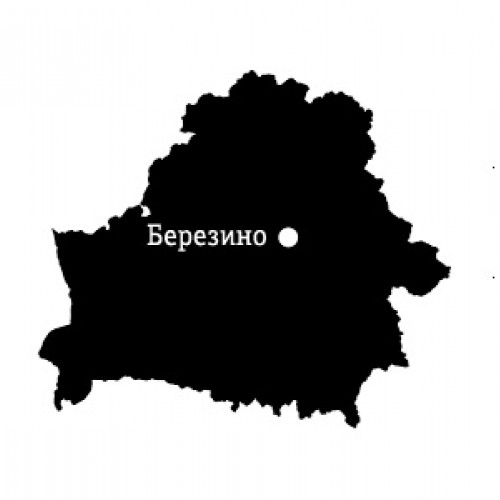 Карта местности: Березино
