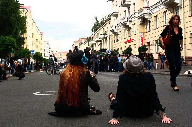 Минск. Улица Карла Маркса