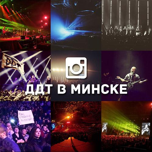 Концерт группы ДДТ в Минске