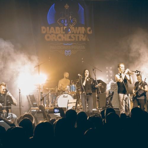 Концерт группы Diablo Swing Orchestra в Минске