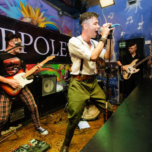 Концерт группы Epolets в Минске