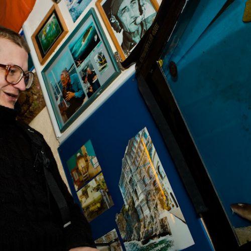 Илья Черепко-Самохвалов в Минском центре океанографии