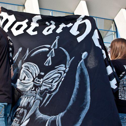 Концерт группы Motörhead в Минске