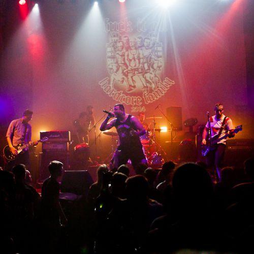 Концерт группы Agnostic Front в Минске