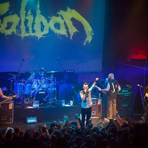 Концерт группы Caliban в Минске