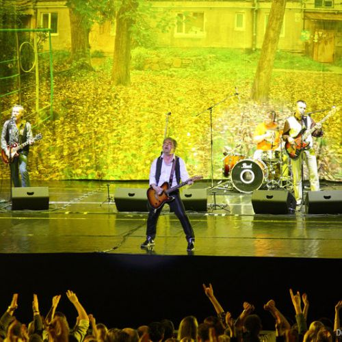 Концерт «Чайф» в Минске