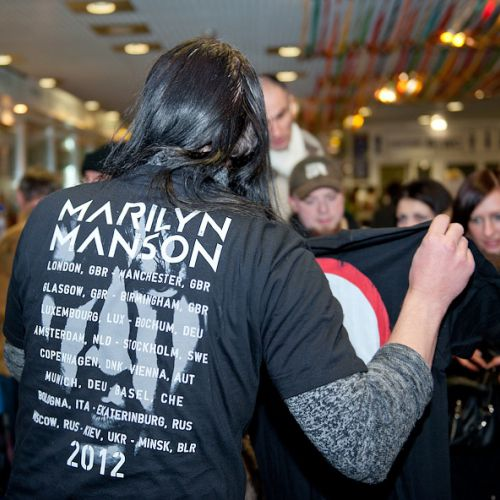 Концерт группы Marilyn Manson в Минске