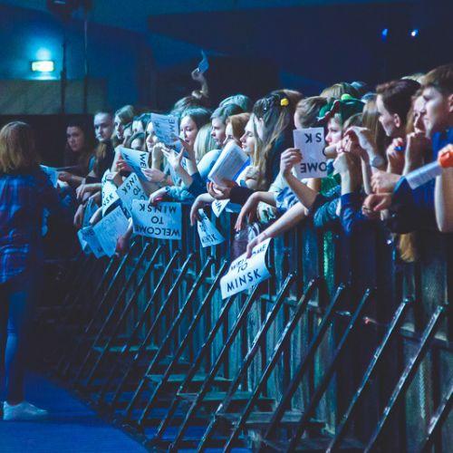 Концерт группы OneRepublic в Минске