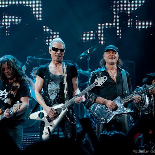 Концерт Scorpions в Минске