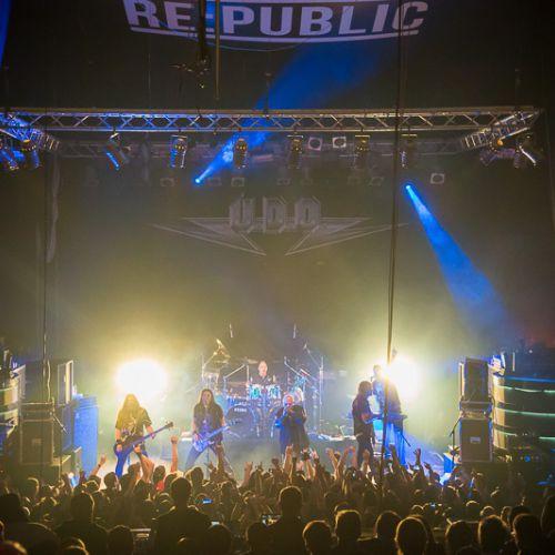 Концерт группы U.D.O. в Минске