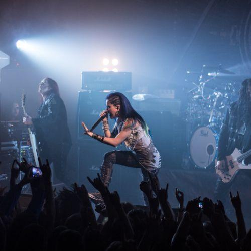 Концерт группы Arch Enemy в Минске