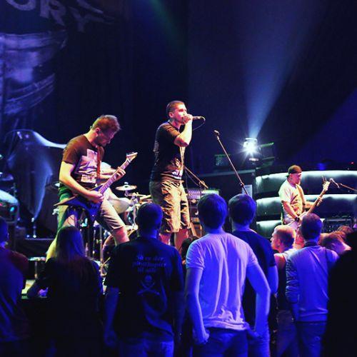 Концерт Fear Factory в Минске