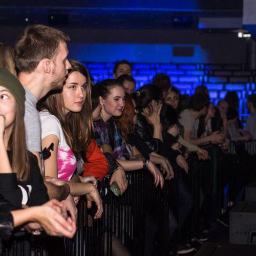 Концерт группы GusGus в Минске