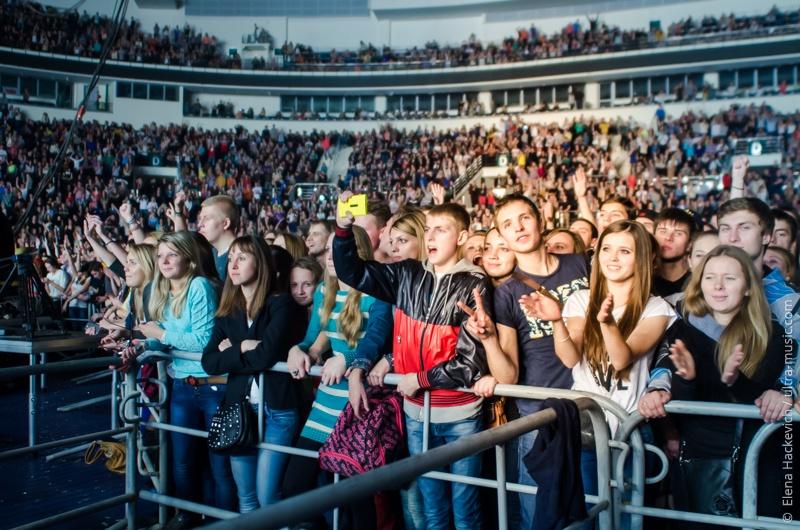 Концерт Макса Коржа в «Минск-Арене»