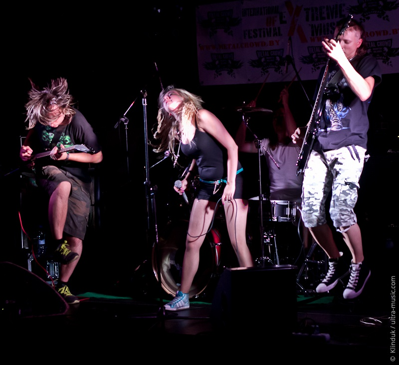 Pre-show фестиваля Metal Crowd 2013