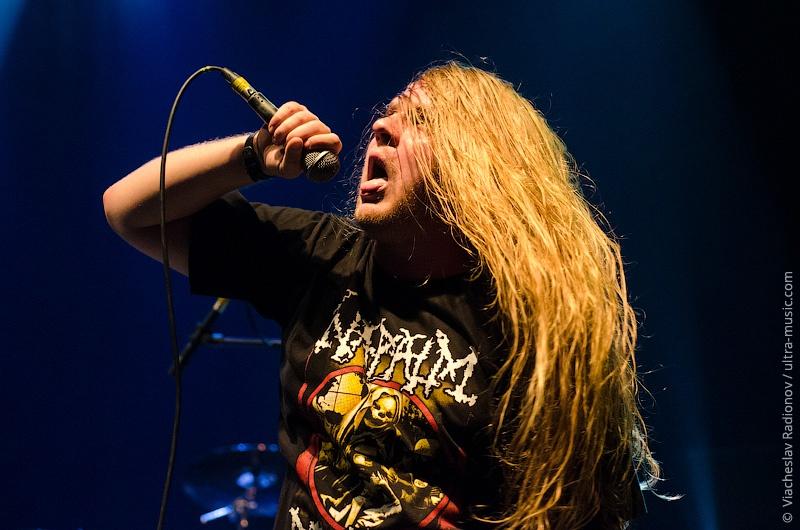 Концерт группы Napalm Death