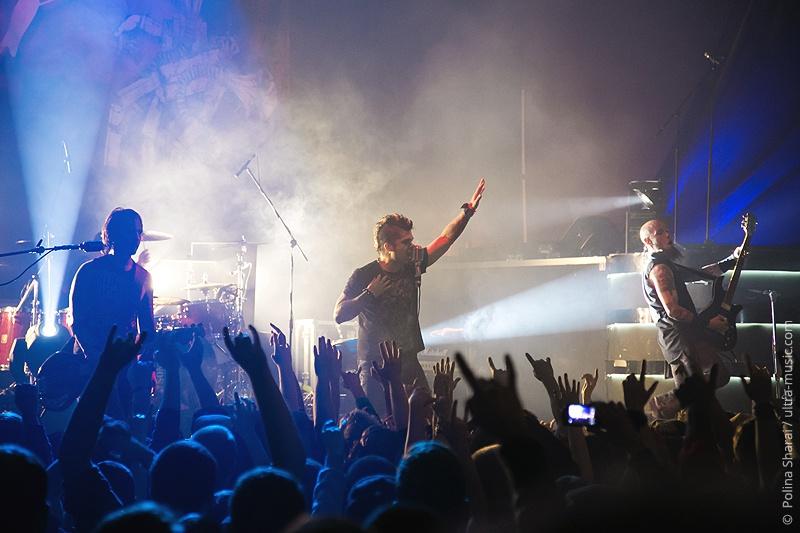 Концерт групп P.O.D. и Drowning Pool в Минске