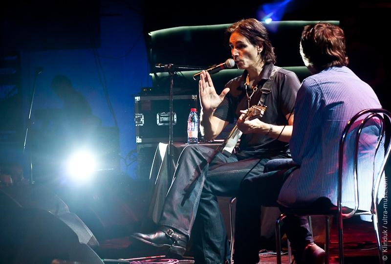 Концерт и мастер-класс Steve Vai в Минске
