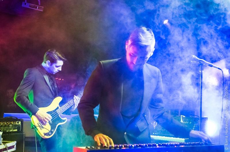 Концерт группы Tesla Boy в Минске
