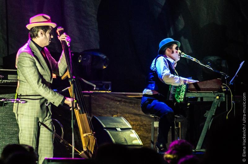 Концерт группы Tiger Lillies в Минске