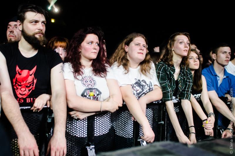 Концерт групп Korn и Soulfly в Минске