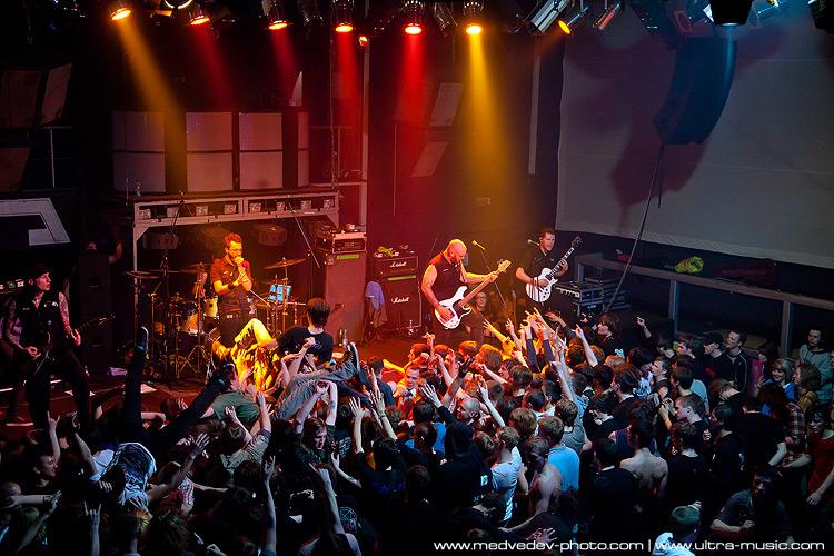 Концерт Caliban в Минске