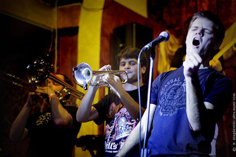 Фестиваль белорусского джаза JAZZCPEDA. Chiefs Band