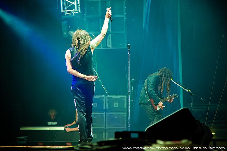 Концерт Korn в Минске