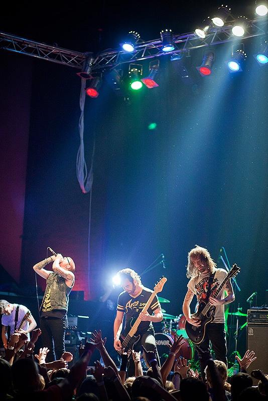 Концерт группы Memphis May Fire