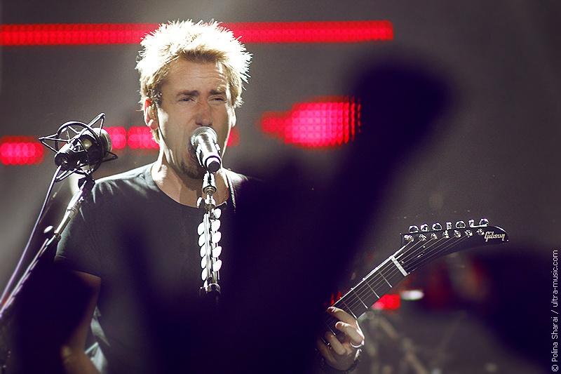 Концерт группы Nickelback