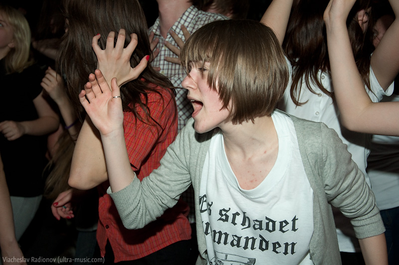 Вечеринка Rockers VS Mods