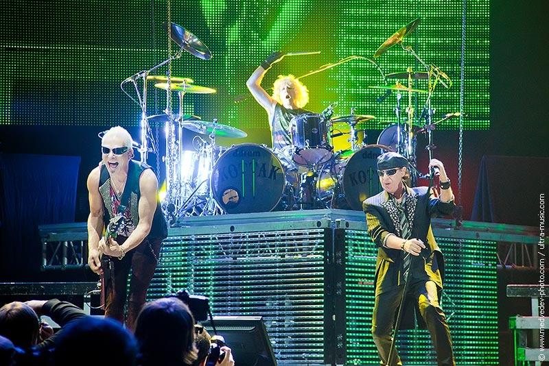 Концерт группы Scorpions в Минске