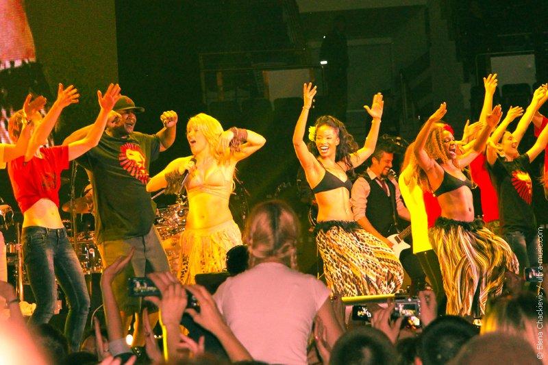 Концерт Шакиры в Минске