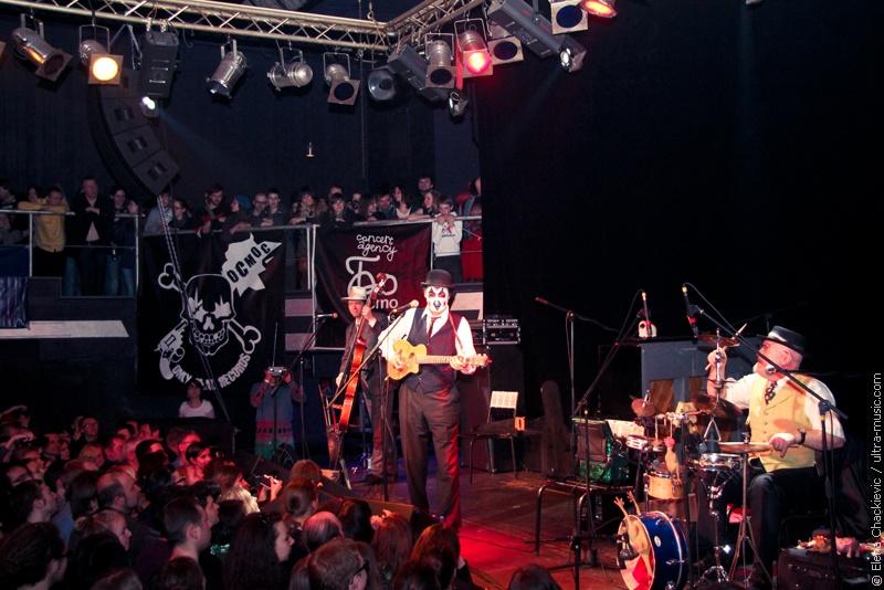 Концерт The Tiger Lillies в Минске