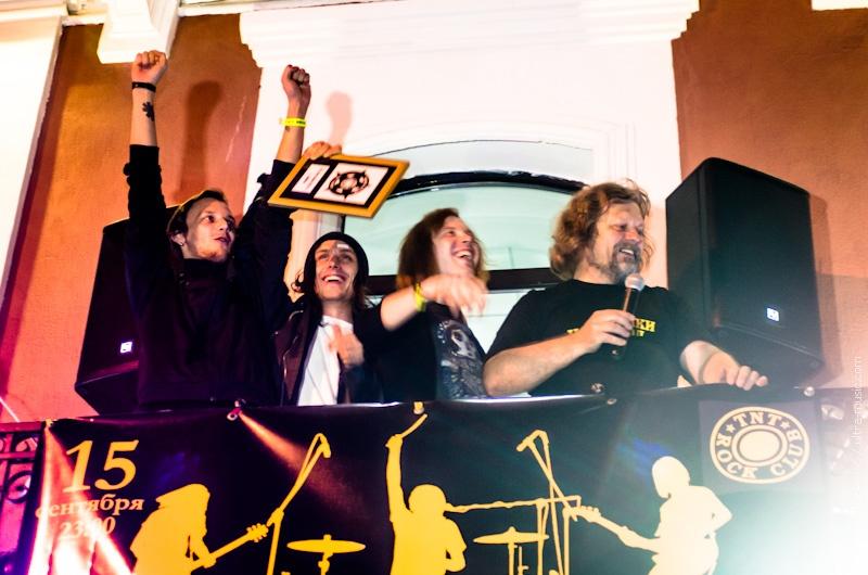 Открытие Звезды The Toobes на Аллее славы клуба TNT