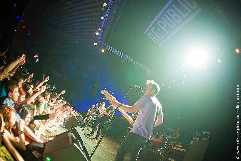 Концерт группы Vanilla Sky в Минске