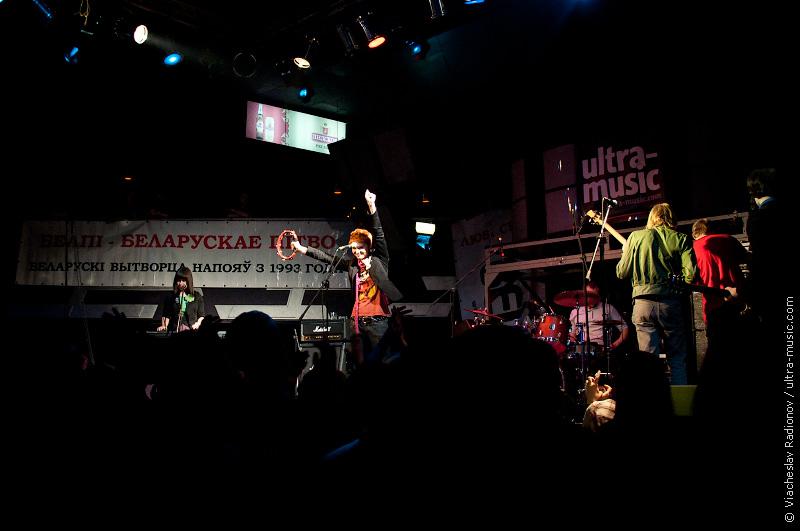 «ЖывыГукON-line» 7 ноября в «Реакторе». Clover Club
